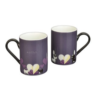 BergHOFF Lover by Lover Purple Coffee Mugs (Set of 2)