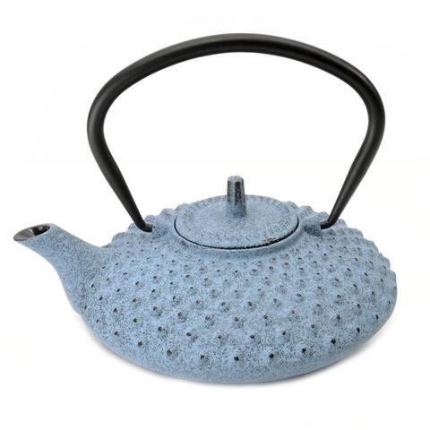 BergHOFF Studio .84-quart Blue Cast Iron Teapot
