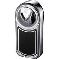 Visol Dobrev Single Jet Flame Cigar Lighter - Polished Chrome - Ships Degassed