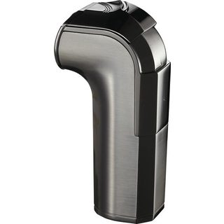 Visol Handle Triple Torch Flame Satin Gunmetal Cigar Lighter