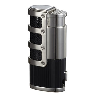Visol Cato Triple Jet Flame Lighter - Black Matte - Ships Degassed