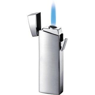 Visol CamiNo Single Jet Flame Lighter - Chrome - Ships Degassed