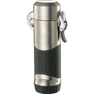 Visol Summit Coil Flame Lighter For Outdoors - Gunmetal - Ships Degassed