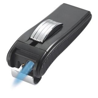 Visol Dark Knight Single Jet Flame Cigar Lighter - Black
