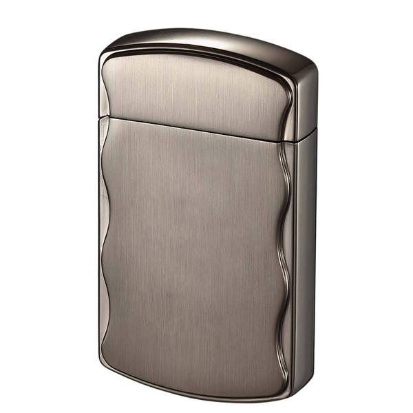 Visol Fireball Brushed Gunmetal Coil Flame Lighter - Ships Degassed