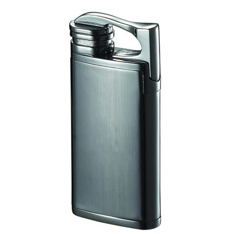 Visol Iceman Single Jet Flame Cigar Lighter - Chrome - Ships Degassed
