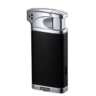 Visol Coppia All-in-One Cigar, Cigarette, and Pipe Lighter - Black Matte