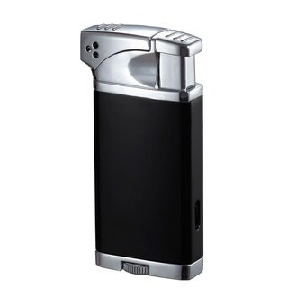 Visol Coppia All-in-One Cigar, Cigarette, and Pipe Lighter - Black Matte