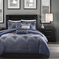 Madison Park Landon Jacquard 6-piece Duvet Cover Set