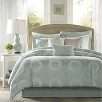 Madison Park Mason 6-Piece Printed Duvet Cover Set