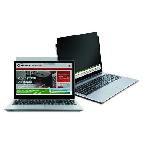 Innovera Black-Out Privacy Filter for 14 inch Widescreen Notebook