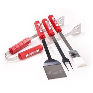 Arkansas Razorback 4-piece BBQ Set