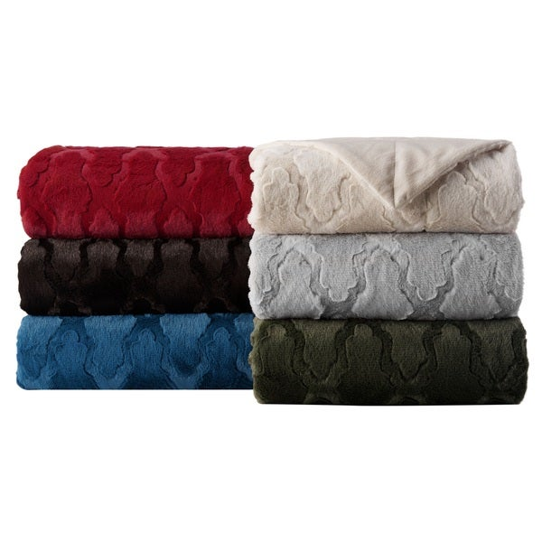 Project Runway Lorna Faux Fur Throws