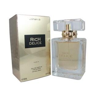 Johan B. Rich Delice Women's 2.8-ounce Eau de Parfum Spray