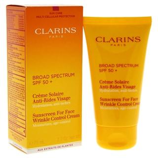 Clarins Sunscreen 2.7-ounce Wrinkle Control Cream VHP SPF 50