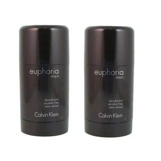 Calvin Klein Euphoria Men's 2.6--ounce Alcohol Free Deodorant (Pack of 2)