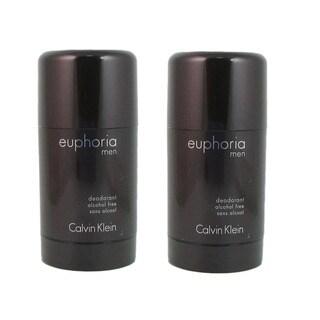 Calvin Klein Euphoria Men's 2.6-ounce Alcohol Free Deodorant (Pack of 2)