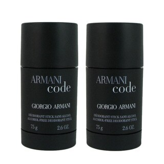 Giorgio Armani 'Armani Code' Men's 2.6-ounce Deodorant Stick (Pack of 2)