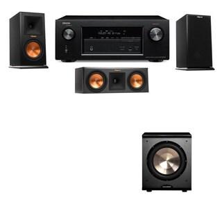 Klipsch RP-150M-E Monitor Speaker 3.1 PL-200 Denon AVR-X2100W