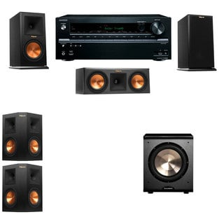 Klipsch RP-150M-E Monitor Speaker 5.1 PL-200 Onkyo TX-NR636