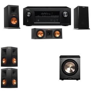 Klipsch RP-150M-E Monitor Speaker 5.1 PL-200 Denon AVR-X2100W