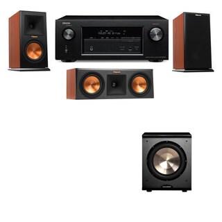 Klipsch RP-150M-CH Monitor Speaker 3.1 PL-200 Denon AVR-X2100W