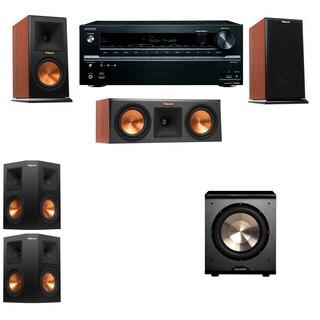 Klipsch RP-150M-CH Monitor Speaker 5.1 PL-200 Onkyo TX-NR636