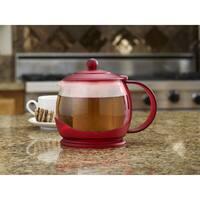 BonJour(r) Teapots Prosperity 42-Ounce Glass Teapot