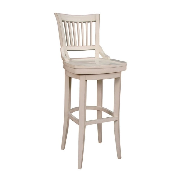 Ross 30 Inch Bar Stool In Antique White