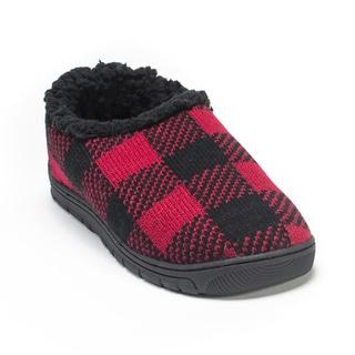 Muk Luks Men's Red John Slippers