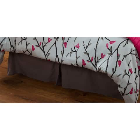 Rizzy Home Blossoms and Blooms Bedskirt