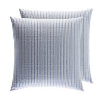 Laura Ashley Linley Quilted European Sham Set (Set of 2)