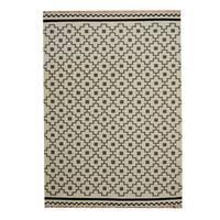Herat Oriental Indo Hand-Woven Tribal Vegetable Dye Wool Kilim (5'6 x 8')