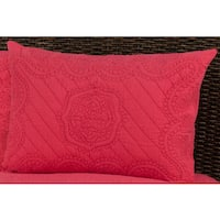 Rizzy Home Moroccan Pink Fling Sham