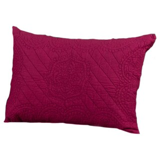 Rizzy Home Moroccan Raspberry Fling Sham (2 options available)