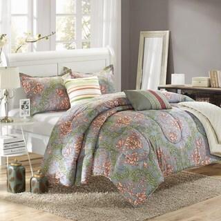 Chic Home Augstus Luxury Reversible 6-piece Comforter Set with Quilt Bonus