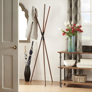 MID-CENTURY LIVING Corallo Tripod Iron Tube Coat Tree Rack
