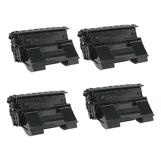 Xerox 4510 (113R00712) Black Compatible Laser Toner Cartridge 4510 (Pack of 4)