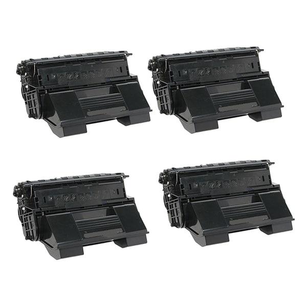 Xerox 4510 (113R00712) Black Compatible Laser Toner Cartridge 4510 (Pack of 4)