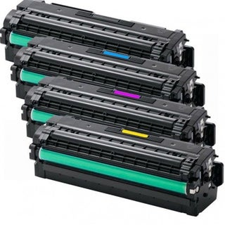 Samsung CLT-K505L CLT-C505L CLT-M505L CLT-Y505L Compatible Toner Cartridge For SL-C2620DW CLX9352NA (Pack of 4)