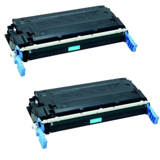 HP Q6471A Toner Cyan Compatible Toner Cartridge 3600 3600dn 3600n 3800 3800dn 3800dtn 3800n CP3505dn (Pack of 2)