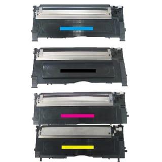 Samsung Compatible CLT-M409S CLT-C409S CLT-Y409S CLT-K409S toner Cartridge For CLP-315/315W CLX-3175FN CLT-C409S (Pack of 4)