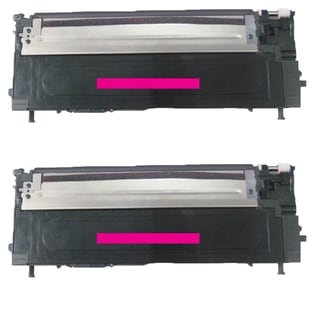 Samsung Compatible CLT-M409S Magenta toner Cartridge For CLP-315/315W CLX-3175FN CLT-C409S (Pack of 2)