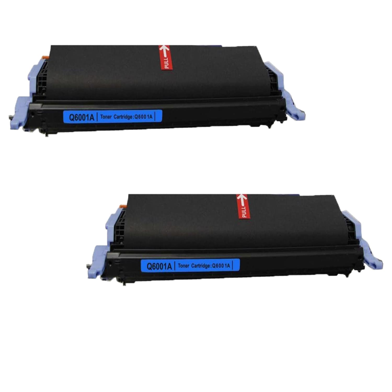 N HP Q6001A Cyan (Blue) Compatible Toner Cartridge 1600 2...