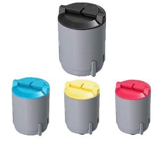Samsung Compatible CLP-M300A CLP-Y300A CLP-C300A CLP-K300A toner Cartridge For CLP-300 CLP-300N (Pack of 4)