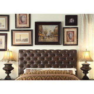 Moser Bay Furniture Calia Queen High Rolled Upholstery Headboard