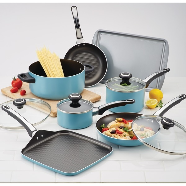 Farberware High Performance Nonstick 17-piece Cookware Set ...
