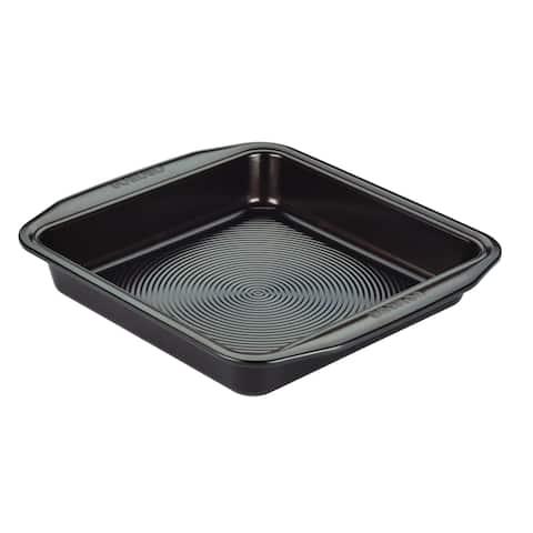 Circulon(r) Nonstick Bakeware Chocolate Brown 9-inch Square Cake Pan