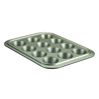 Anolon Pewter/Onyx Nonstick Bakeware 12-cup Muffin Pan