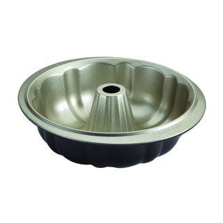 Anolon Pewter/Onyx Nonstick Bakeware Fluted Mold Pan